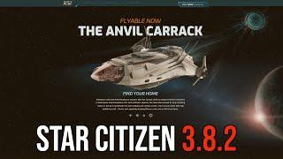 Exploration Megapack 2950 Test Squadron Premier Star Citizen Organization