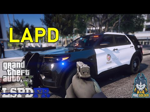 LAPD First Person POV Patrol In A  Ford Explorer | GTA 5 LSPDFR Episode 565