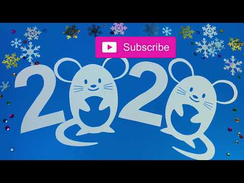 2 Easy ideas handmade paper decorations for New Year, Christmas / DIY paper patterns