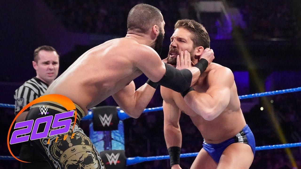 Ariya Daivari vs. Jeff Brooks: WWE 205 Live, Jan. 10, 2020