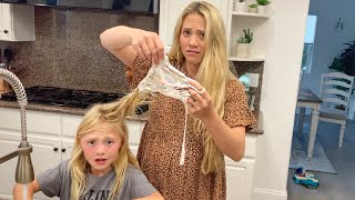 We Have A Problem... We Can't Believe This Happened To Everleigh's Hair...