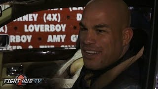 "Tito Ortiz ""Best birthday ever! It took me 18 years to get that satisfaction back"""