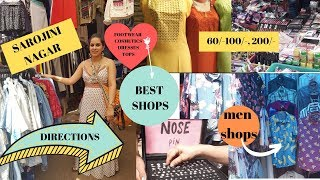 SAROJINI NAGAR MARKET   Best cheapest shops with Direction map