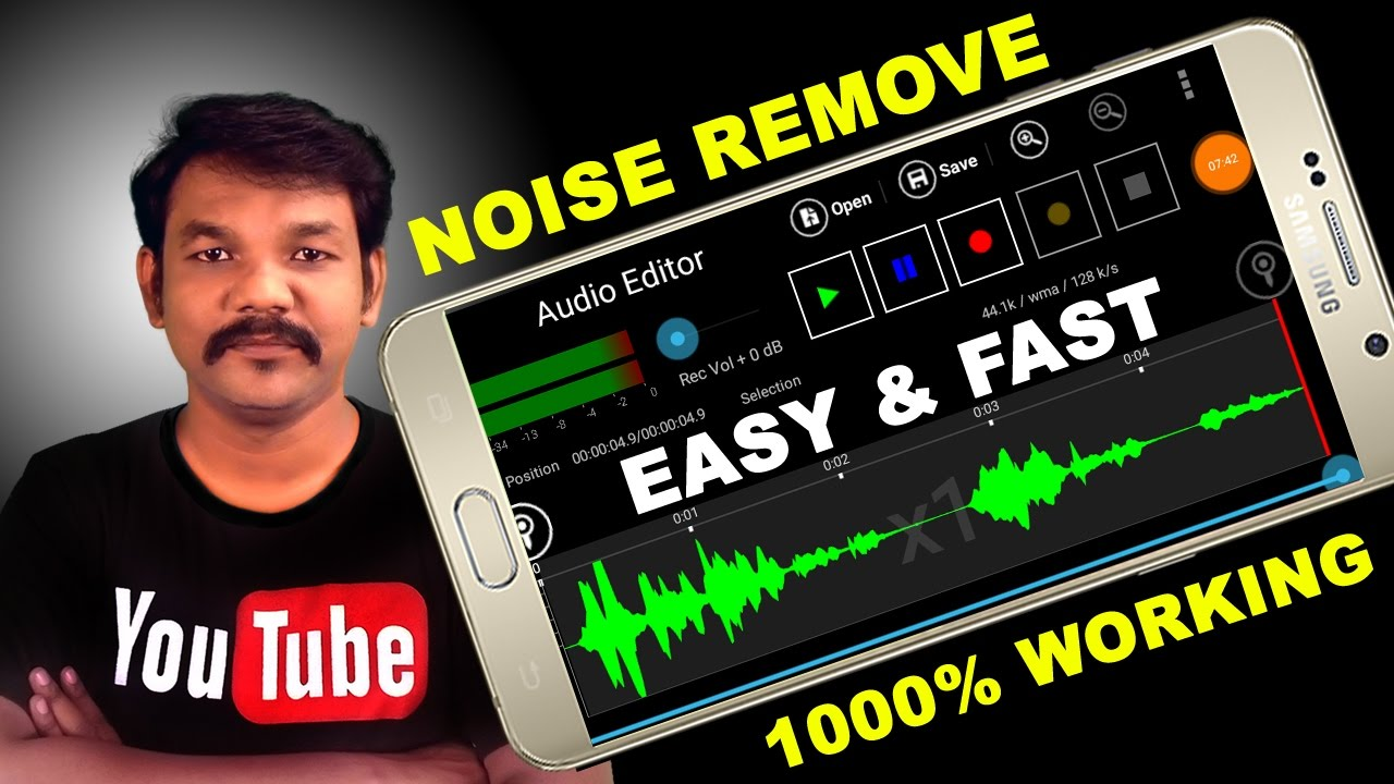 how to get rid of back gound noise on phone