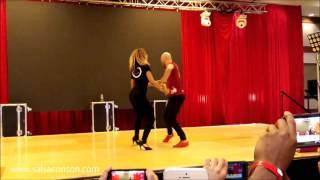 ataca y la alemana bachata workshop at houston salsa congress 2016