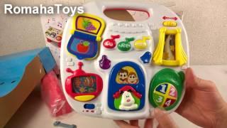 Игровой музыкальный столик Keenway K32703. Видео обзор - распаковка. Детский столик