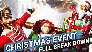 Apex Legends - Full Christmas Event Break Down - All you need to know!