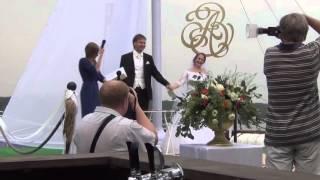 Выступление на выездной свадебной регистрации