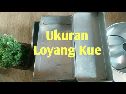 Ukuran Loyang Kue Berbagai Jenis Loyang Kue
