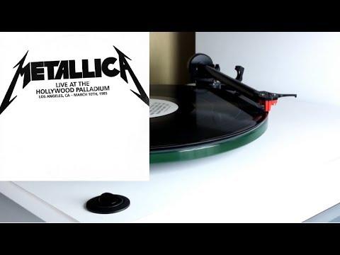 METALLICA Live At The Hollywood Palladium 1985 vinyl rip 1080p