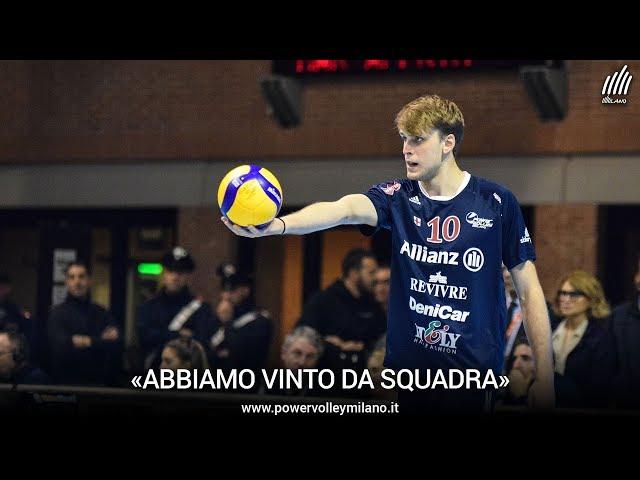 Superlega, l'intervista post Ravenna - Milano di Fabrizio Gironi