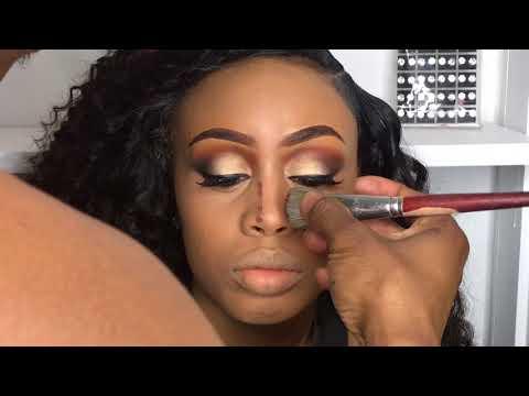Easy Make Up Application | 123 design|  Make up Tutorial 2018