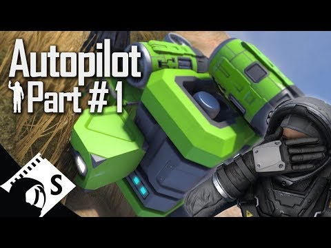 Space Engineers Tutorial: Autopilot & Remote Control Part 1 (tips, testing, tutorials for survival)