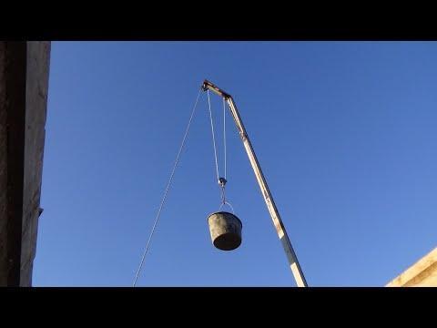 Ручной подъёмный кран на каждую стройку.