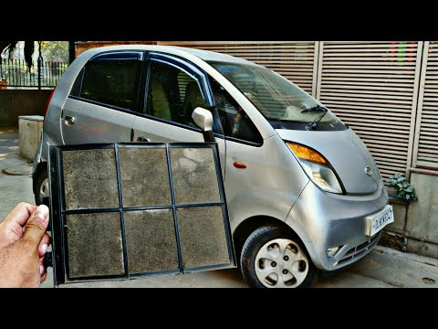TATA NANO AC Filter Cleaning or Replacement