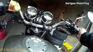 MotoVlog #32 - Odpalanie Rometa Soft Chopper po miesiącu niejeżdżenia