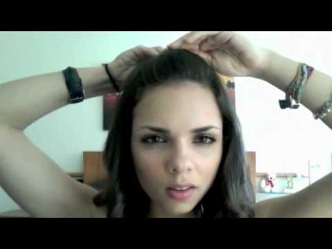 7 Formas De Esconder Tu Pollina O Flequillo Youtube - Peinados-flequillo-recogido