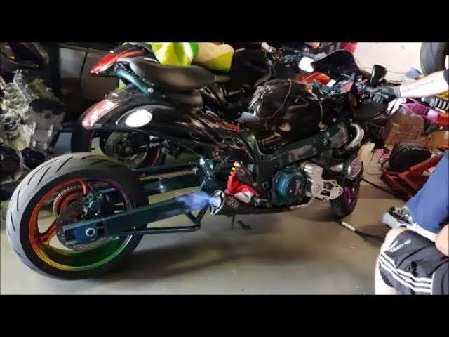 BikeLifeVlogs #107 Custom Sport Bikes Tuning!!