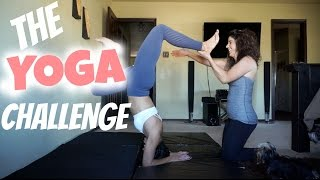 THE YOGA CHALLENGE WITH MY MOM