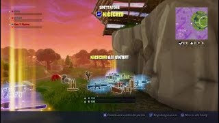 Fortnite match January 1, 2018