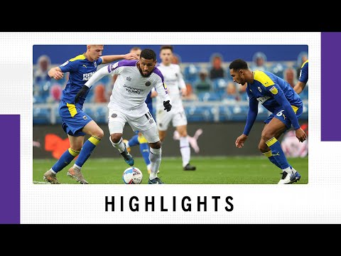 AFC Wimbledon Shrewsbury Goals And Highlights