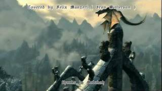 Skyrim - Acapella : The Dragonborn comes + Main Theme (Malukah covercover)