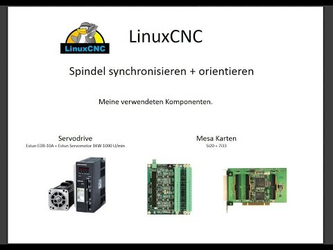 LinuxCNC Spindle-Control