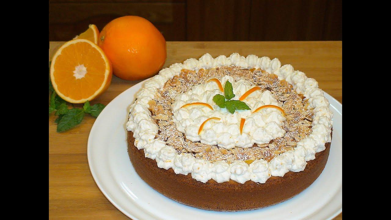 pastel de almendra con chantilly a la naranja la cocina On cocina con loli