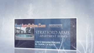 El Cajon Apartments, Stratford Arms Apartments For Rent; El Cajon CA 92019, Rental Apts