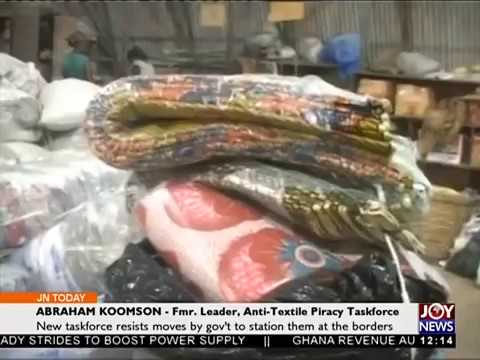 Checking Textile Piracy - Joy News Today (19-4-18)