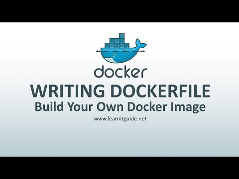 Docker Tutorial for Beginners Part 6 - How to Write Dockerfile To Build Your Own Docker Images