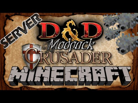Dungeon DANGER | Minecraft Modded D&D RPG Crusader Mod Pack | EP 152