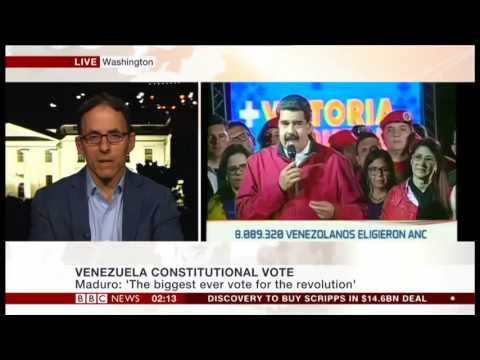 Mark Weisbrot on BBC News: Venezuela (July 31, 2017)