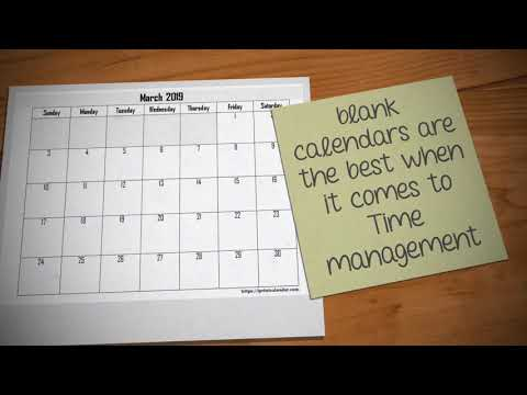 March 2019 Blank Calendar Template In Word And PDF