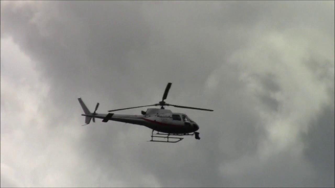 Elicottero 355 : Aérospatiale eurocopter as Écureuil elicottero youtube