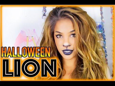 Grwm 10 Minute Lion Halloween Hair Makeup Andreaschoice