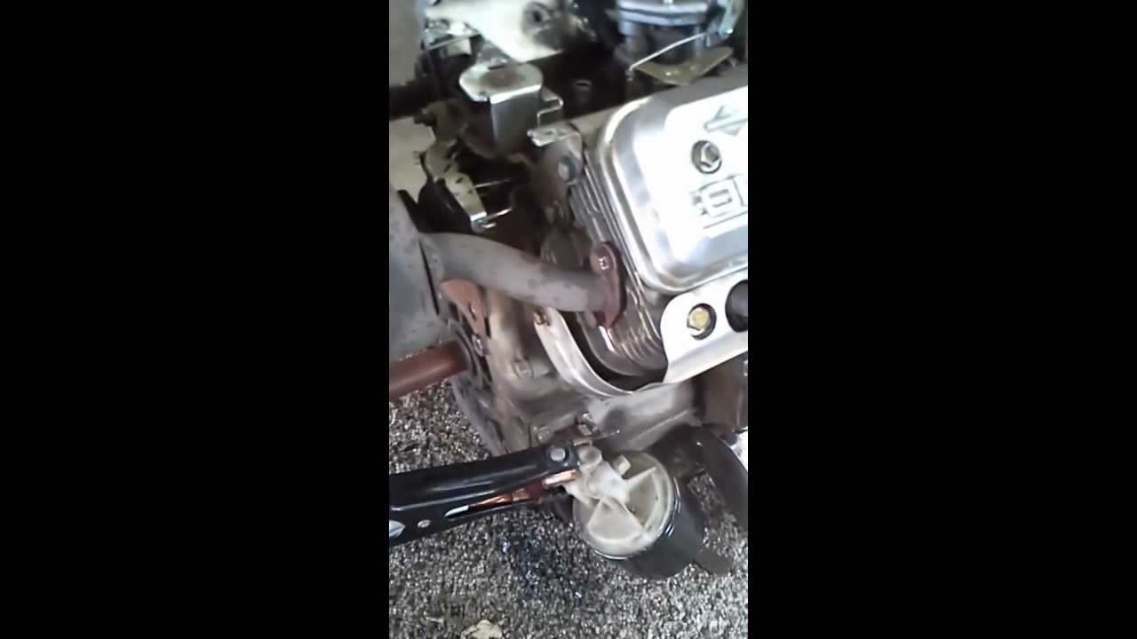 Briggs And Stratton Vanguard Horizontal Shaft V Twin Model 356447 Governor Spring Diagram Car Tuning Type0200 E1second Video Youtube