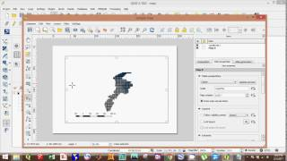 QGIS-How to create a map using QGIS and map composer in QGIS