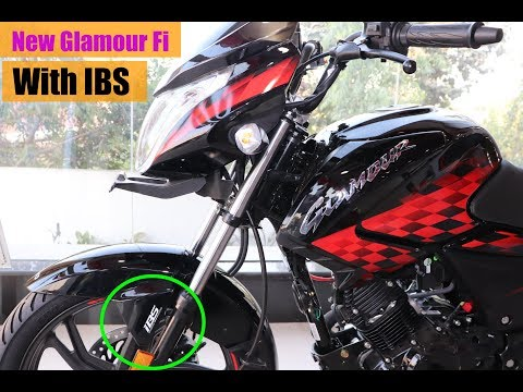 2019 Hero Glamour FI With IBS Brakes Review New Features In Hindi