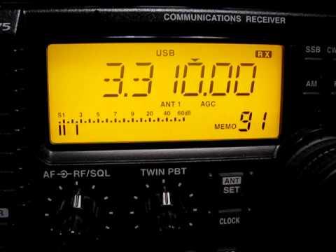 Odessa Radio 3310 kHz. 13.2.2011.