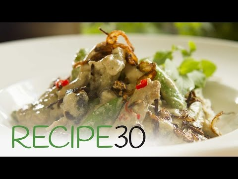 Forget take out, this is easy! THAI GREEN CHICKEN CURRY – By RECIPE30.com