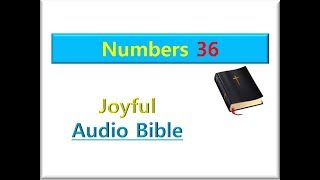The Bible Numbers chapter 36