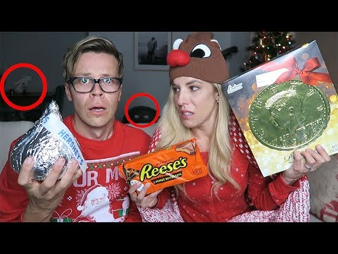 DO NOT TRY GIANT HOLIDAY CANDY AT 3AM! Not clickbait! (Day 336)