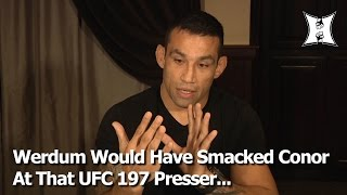 Fabricio Werdum Reacts To Conor