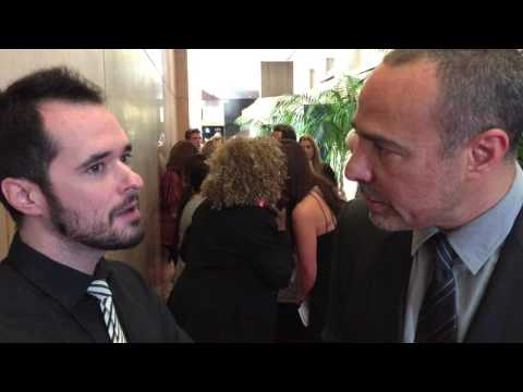 'Concussion' Director Peter Landesman Chats On Hollywood Film Awards Red Carpet