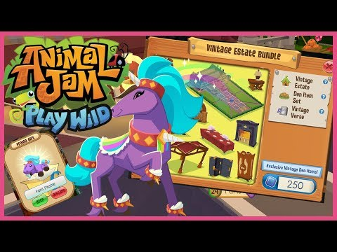 Play Wild New Den Vintage Estate + Jambassador Plushie Codes!