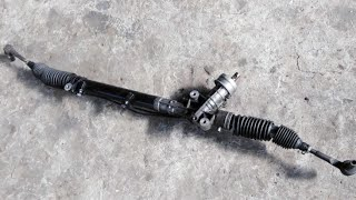 видео Замена рулевой рейки Ауди