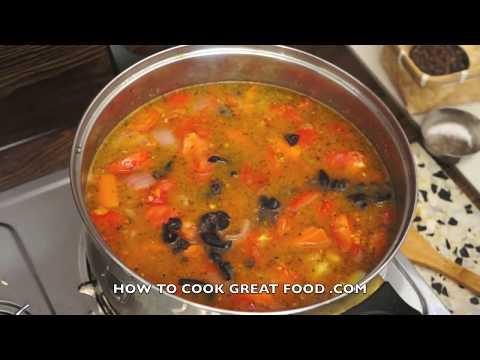 Classic Fresh Tomato Soup Recipe – Italian Herbs Basil Oregano