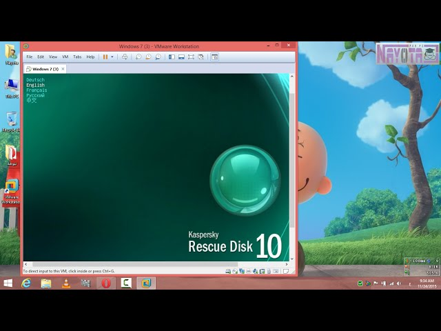 ????? ?????? ???????? ??????? Kaspersky Rescue Disk ??? ???????? ?? ????? ?????? ???????? offline