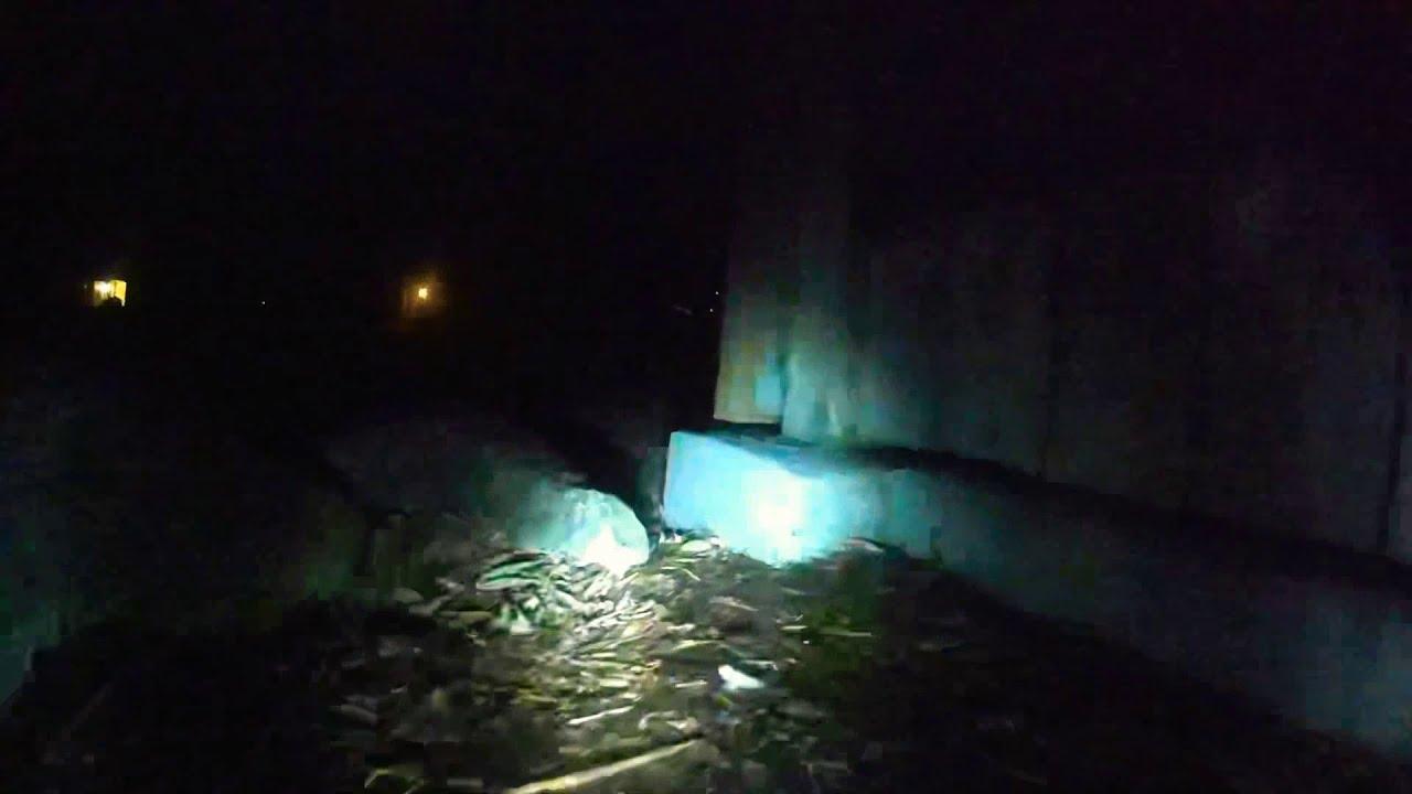 Trx4 Dji Fpv 4WS. Driving from inside the Rotorhome at night фото